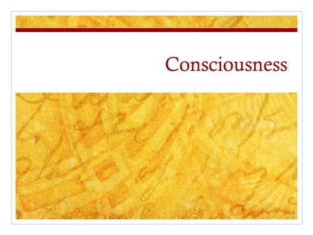 Consciousness. What is it? Part of the mind? Something separate (emergence)? Complex adaption? Evolution? Role in intelligence? No one knows.