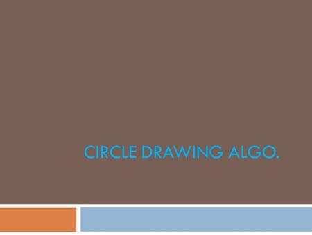 Bresenham Line Drawing Algorithm With Example Pdf : Chapter 3 graphics output primitives ppt download
