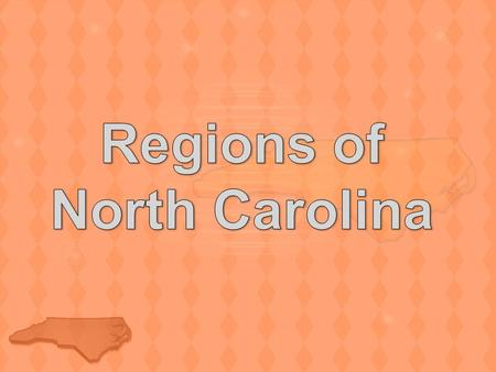 Regions of North Carolina
