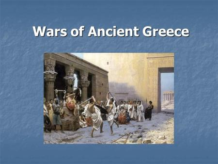 Wars of Ancient Greece Video Clips  JUlOlg  JUlOlg