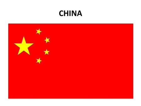 CHINA. In eastern AsiaWorld's most populated country Fourth largest country in terms of area Beijing is the capitalShanghai is the largest city 70%