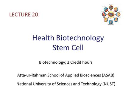 Health Biotechnology Stem Cell