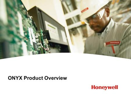 ONYX Product Overview.