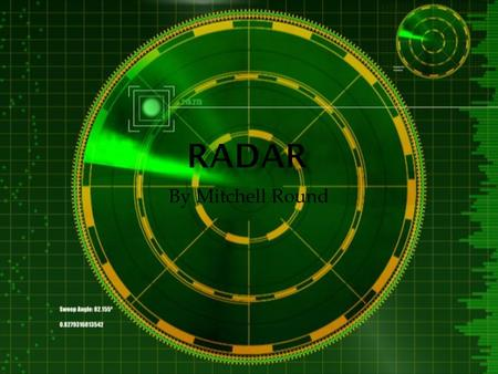 By Mitchell Round.  The principles RADAR was invented by Nikola Tesla in 1917. But it wasn't built until 1934.