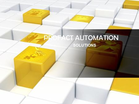 PROFACT AUTOMATION SOLUTIONS. CONVEYOR SYSTEM PRODUCTS We deals in Conveying System in which we have a brand Flexkon covers following the following sectors.