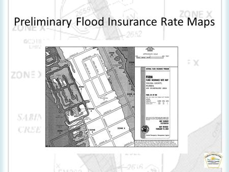Preliminary Flood Insurance Rate Maps. What is a Flood Insurance Rate Map (FIRM) and how do I use it?* A FIRM is a map created by the NFIP for floodplain.