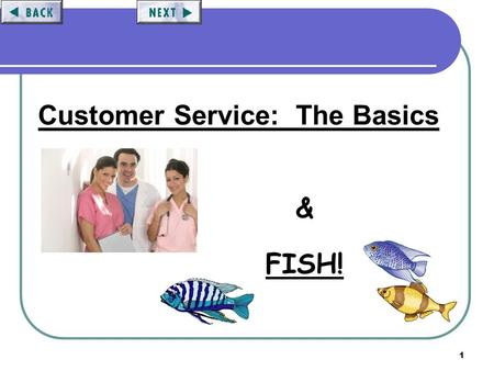 1 Customer Service: The Basics & FISH!. 2 KCC Customer Service Objectives: To introduce our Customer Service Philosophy and Satisfaction Programs. To.