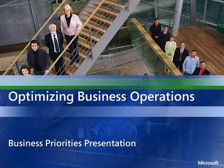 Optimizing Business Operations Business Priorities Presentation.