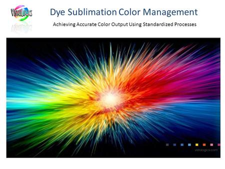 Dye Sublimation Color Management