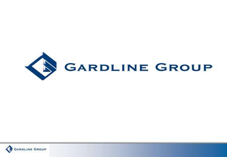 """The efficient use of ships and technology in applying policy at sea, some real examples and suggestions"" Gregory Darling Chairman – Gardline Group www.gardline.com."