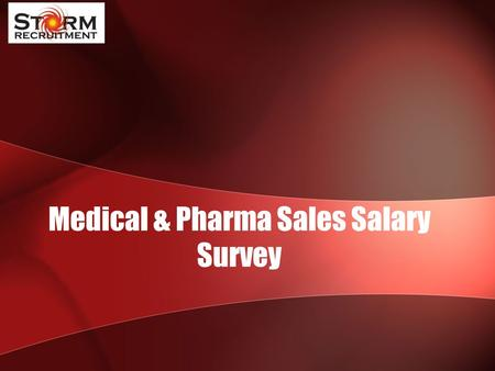 Medical & Pharma Sales Salary Survey. HEALTH, PHARMA & SCIENTIFIC SALES JOB TITLEBasicOTE Country Manager / Sales Director 100,000 - 150,000110,000 -
