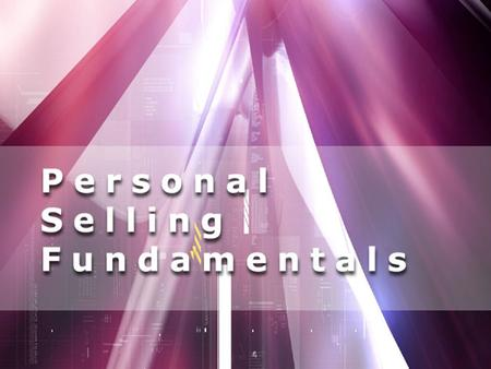 Explain personal selling's role in the marketing communications mix