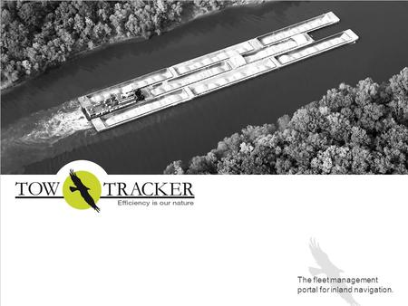 The fleet management portal for inland navigation.