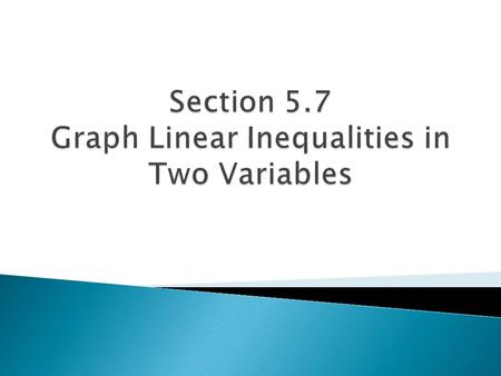  HW #59 Graph Linear Inequalities Worksheet.
