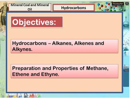 Element Elements and Compounds Hydrocarbons Mineral Coal and Mineral Oil Compounds A compound is a substance composed of two or more elements, chemically.