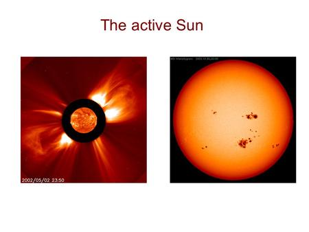 The active Sun. The magnetic Sun White lightMagnetic field.