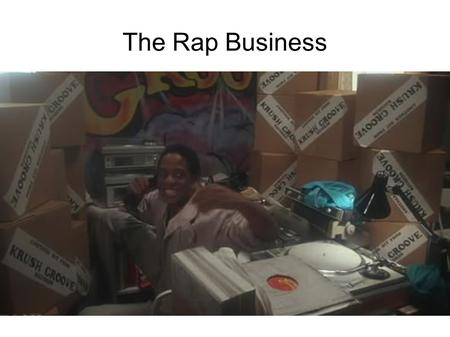 The Rap Business. Music Biz Structure Record Labels – Master Recording Copyright Distributors Publishing – Lyrics / Music Compositional Copyrights Retail.