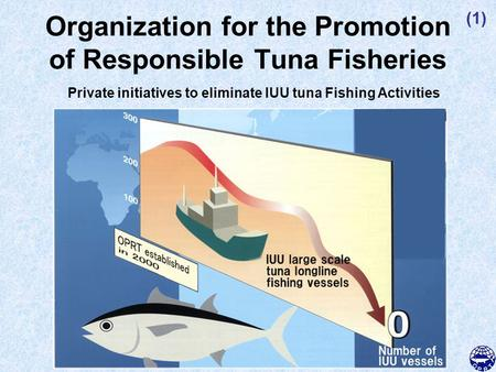 Organization for the Promotion of Responsible Tuna Fisheries Private initiatives to eliminate IUU tuna Fishing Activities (1)