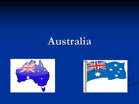 Australia. 2 The Flag 3 The upper left quarter of the flag is called the Canton and pictures the flag of the UK. The upper left quarter of the flag is.