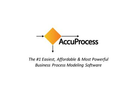 The #1 Easiest, Affordable & Most Powerful Business Process Modeling Software.