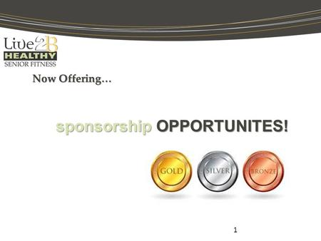 Now Offering… 1 sponsorship OPPORTUNITES!. What For? 2 To help raise money for communities that are:  low income housing  nonprofits  communities that.