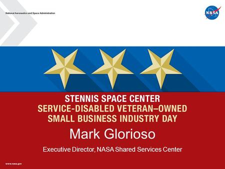 Executive Director, NASA Shared Services Center