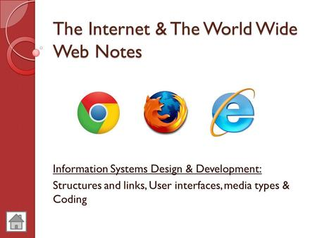 The Internet & The World Wide Web Notes