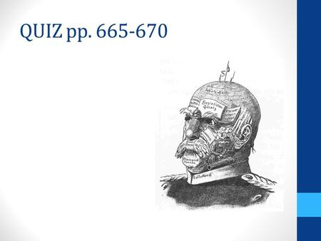 QUIZ pp. 665-670. THE NATIONAL STATE 1.Progress in liberalism  constitutions, parliaments, individual liberties 2.Reform 3.Expansion of voting rights.