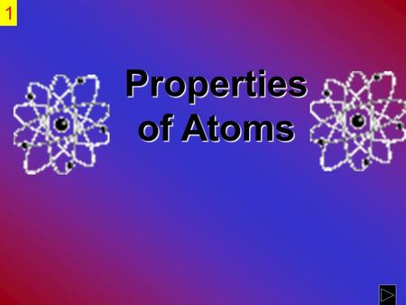 SC3 Students will use the modern atomic theory to explain the characteristics of atoms.