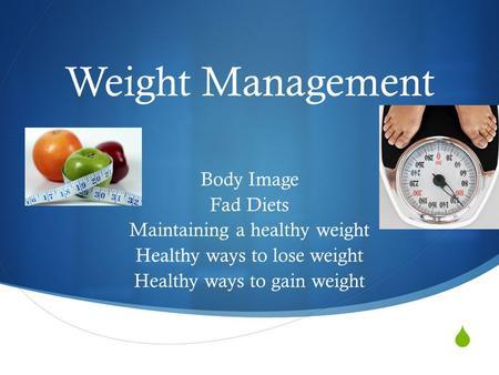 Maintaining a healthy body essay