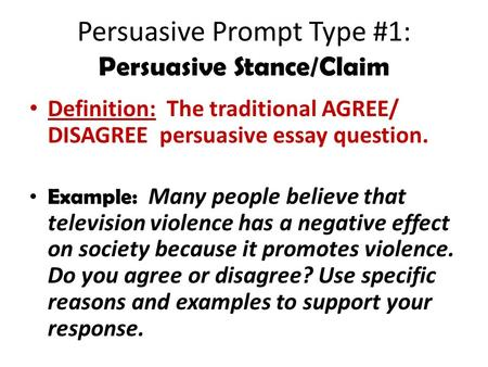 journal write what is the purpose of the paragraph concluding a  persuasive prompt type 1 persuasive stance claim definition the traditional agree