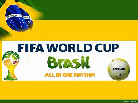 TITLE. Everything you need to know! The FIFA World Cup 2014 will be the 20th FIFA World Cup, an international football tournament that is scheduled to.