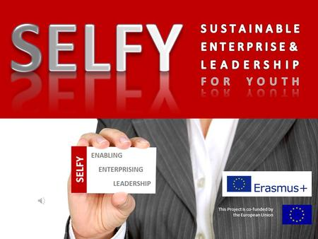This Project is co-funded by the European Union This Project is co-funded by the European Union What is SELFY?