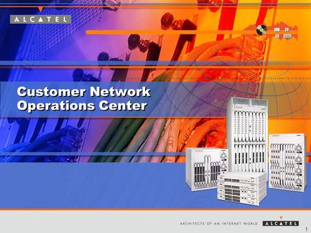 1 Customer Network Operations Center. 2 Agenda Overview Benefits Value Additional Services Questions Monitoring Options.