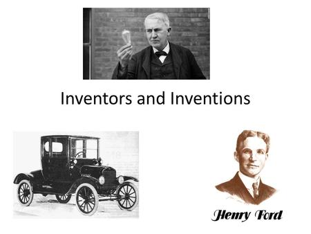Inventors and Inventions. Recap This time period begins just at the end of the Civil War and is called the Industrial Revolution The country is continuing.