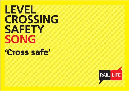 1. CROSS SAFE SONG Train is a-coming, Train is a-coming, Rushing through the countryside, Rushing through the countryside, To a level-crossing, To a level-crossing,