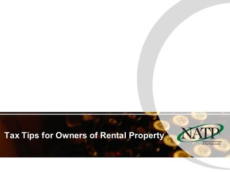 Tax Tips for Owners of Rental Property. How is Rental Income Reported? Usually on Schedule E. A security deposit is not considered income at the time.
