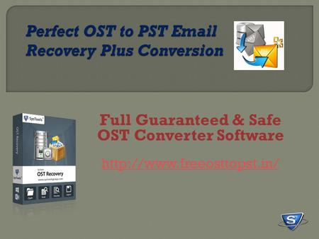 Full Guaranteed & Safe OST Converter Software