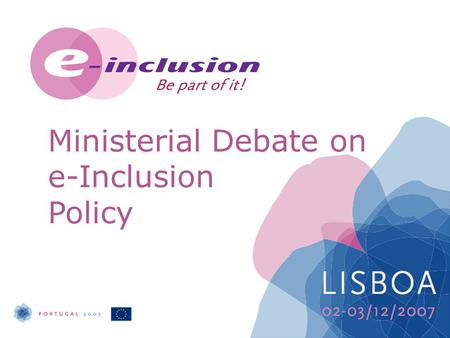 Ministerial Debate on e-Inclusion Policy. The social cost of e-Exclusion Helen Milner Managing Director, UK online centres