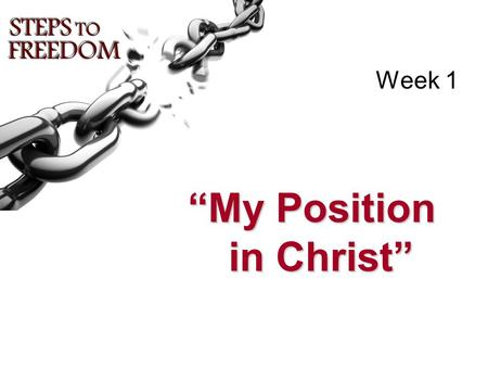 """My Position in Christ"""
