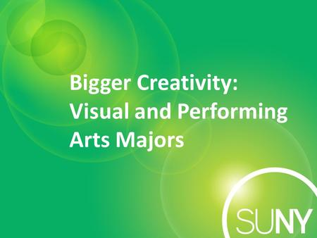 why humans create or participate in visual and performing arts