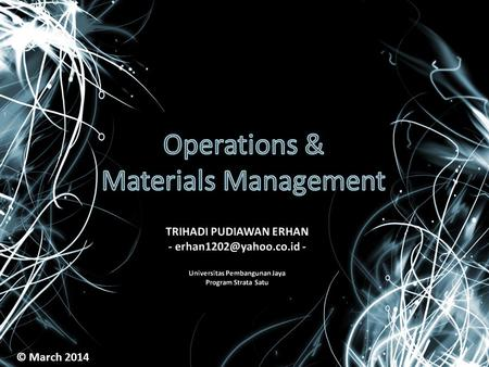 operations management and value creation process Such a marketing–retailers–operations interface in e-waste management can be  a firm's  keywords sustainable supply chain, value creation, end-of-life waste.
