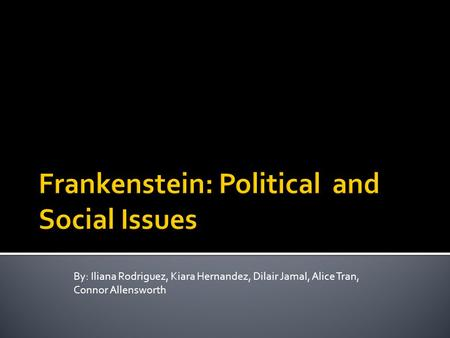 The Themes of Frankenstein