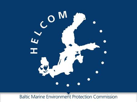 The new HELCOM Key results from the streamlining process 2013-14.