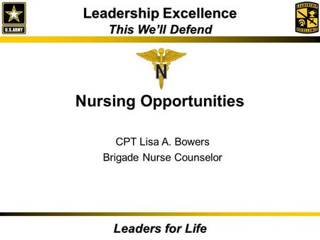 Nursing Opportunities