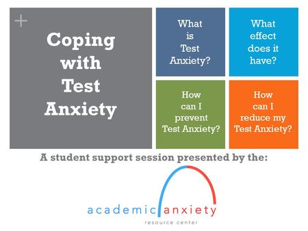 A student support session presented by the: