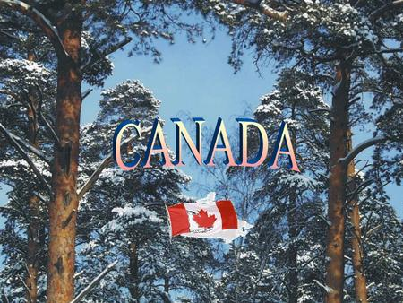 CANADA The population of Canada is over 24 million people. In the country there are 330,000 Indians and 25,000 Eskimos, who live mostly in the North.