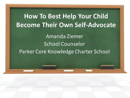 How To Best Help Your Child Become Their Own Self-Advocate