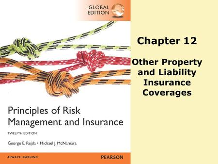Chapter 12 Other Property and Liability Insurance Coverages.
