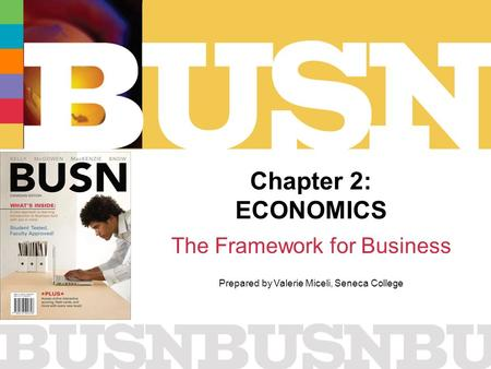 The Framework for Business